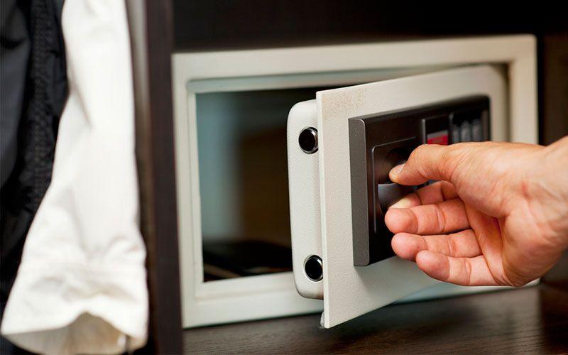 caja fuerte seguridad en casa