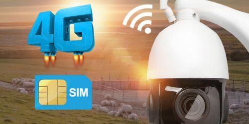 Cámaras de seguridad IP con SIM