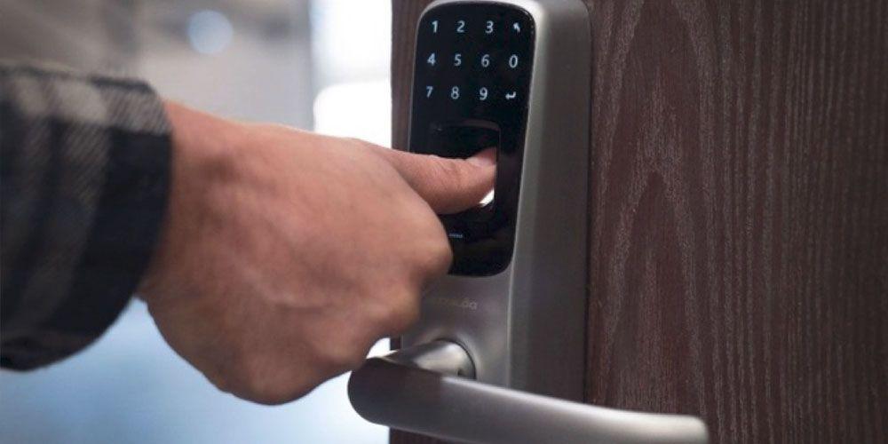 cerraduras de huella digital o dactilar