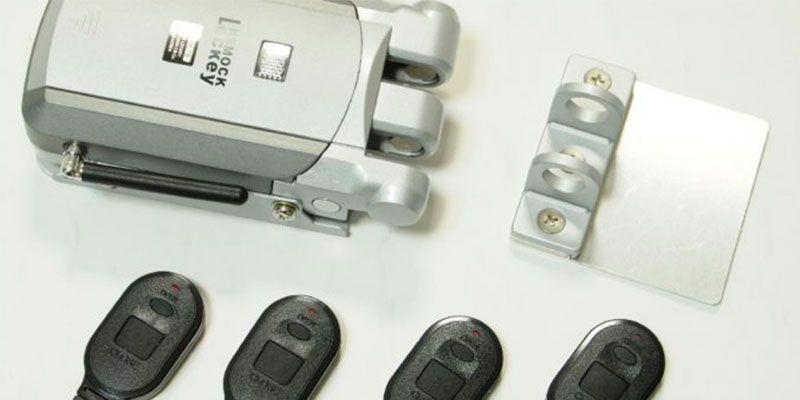cerraduras de sobreponer electronicas