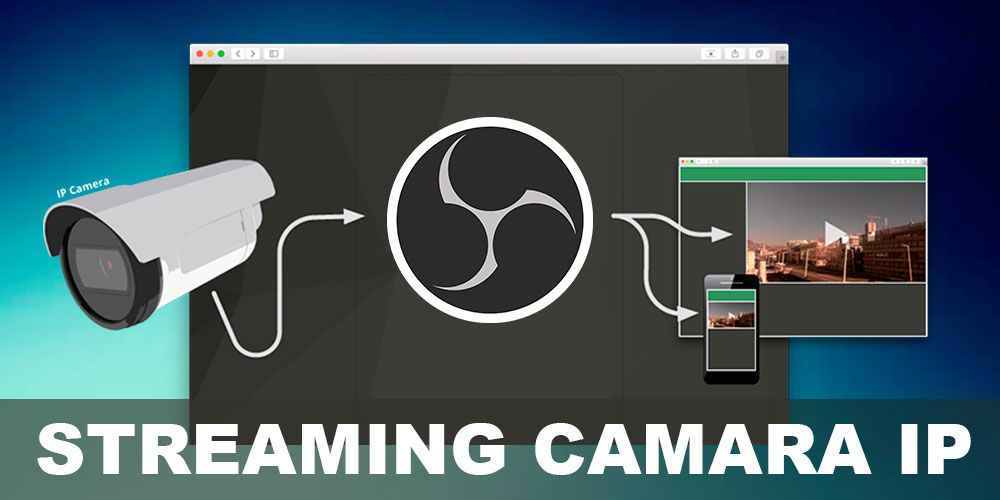 como hacer streaming con una camara IP