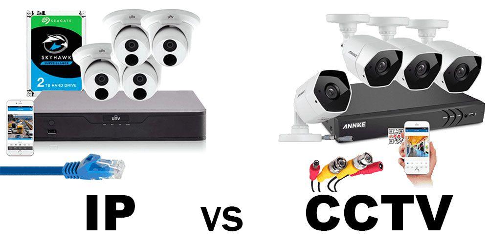 ip vs cctv diferencias y cuando usar cada uno